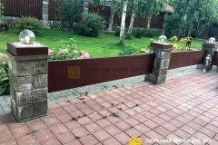 Монтаж террасной доски в Ходаково