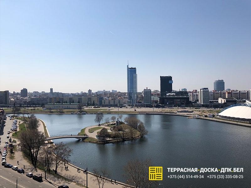 Монтаж террасной доски на Сторожовской