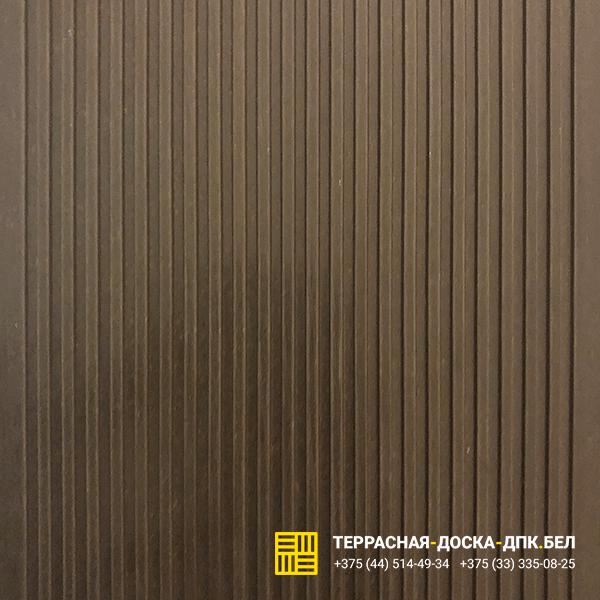Террасная доска ДПК Терропласт коричневый