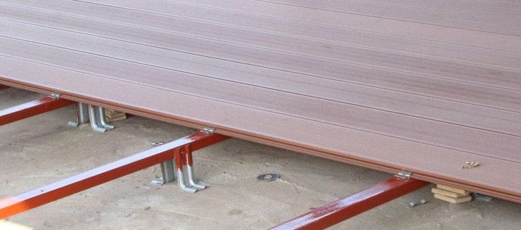 Террасная доска из ДПК декинг фото