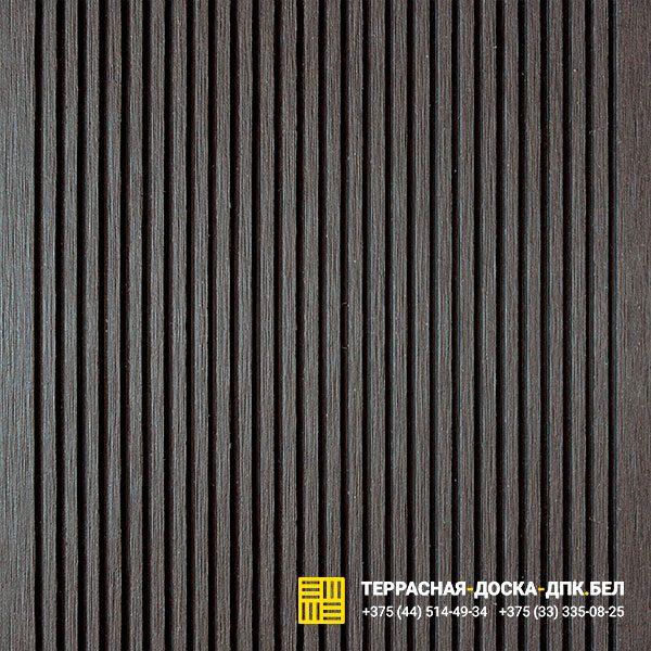 Террасная доска ДПК шовная Deckron Черный