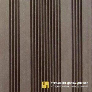 Террасная доска ДПК Ecodeck шовная венге