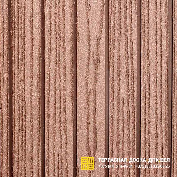 Террасная доска ДПК Dortmax Folk Plus коричневый