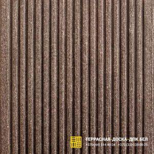 Террасная доска ДПК Dortmax Barocco черный