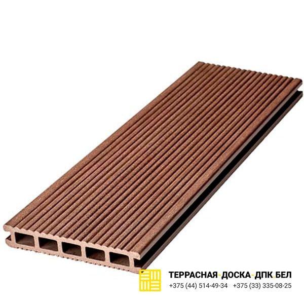 Террасная доска ДПК Dortmax Barocco коричневый