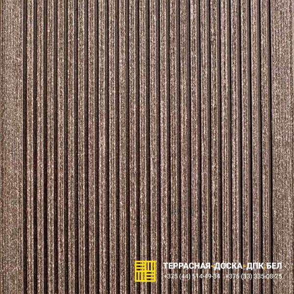 Террасная доска ДПК Dortmax Velvet Classic черный