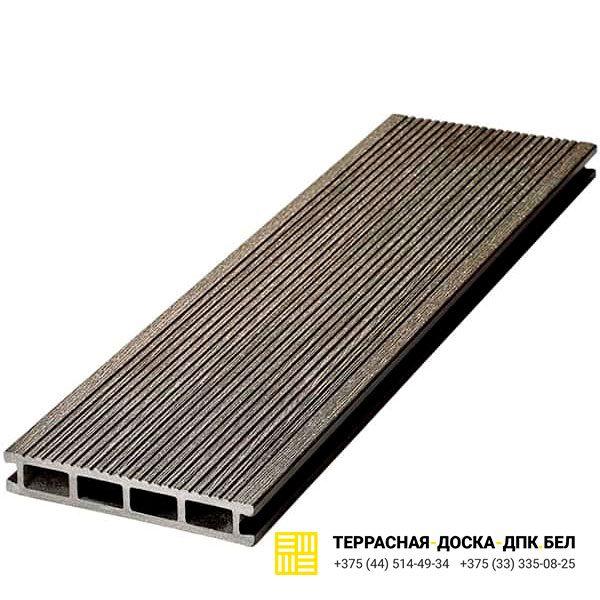 Террасная доска ДПК Dortmax Velvet Standart черный