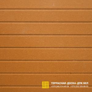 Торцевая планка для террасной доски ДПК Желтый