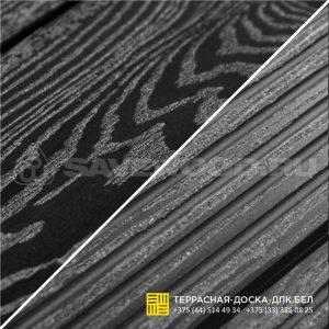 Террасная доска ДПК с тиснением Savewood Ornus Черный-2